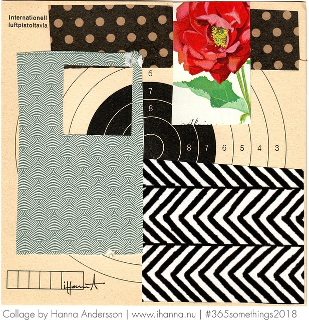 Roses for the Girls - Collage no 70 by Hanna Andersson aka iHanna #365somethings2018 #collage