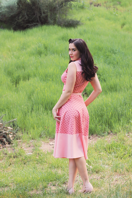 Miss Candyfloss Rufina Sleeveless Swing Dress