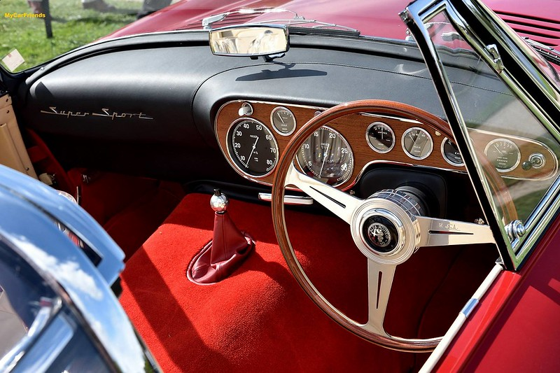 Alfa Romeo 6C 3000CM Superflow IV by Pinin Farina 1960