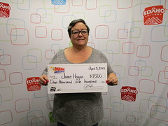 June Hogan- $1,500 Mega Millions