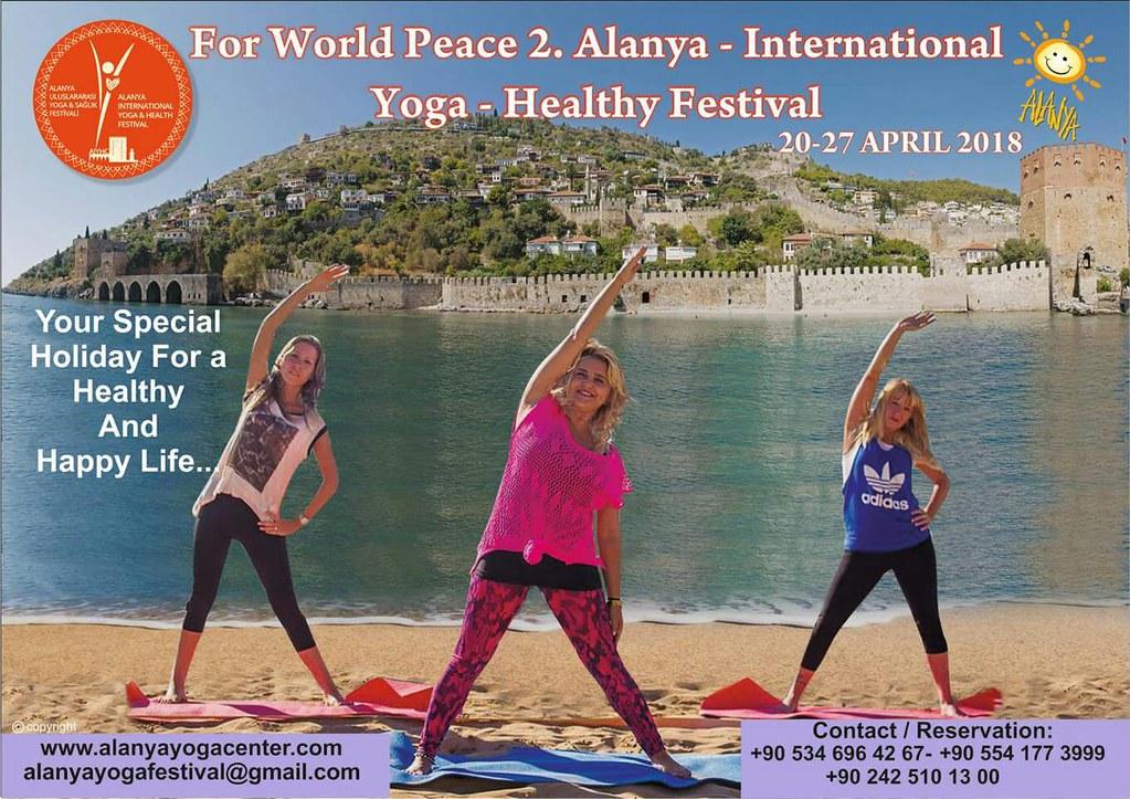 2. Alanya Uluslararası Yoga & Sağlık Festivali, 20 Nisan'da Lonicera Otel'de başlıyor.-4