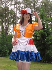 Dutch hat and skirt
