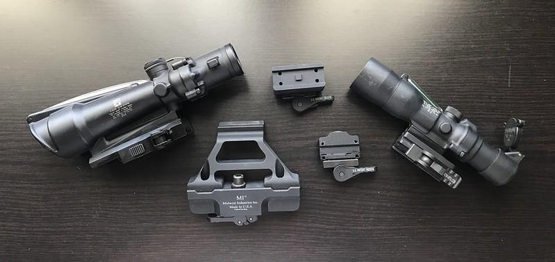 ACOG TA11-308 TA33 5 56 ADM Aimpoint Micro, MRO, AK Mini