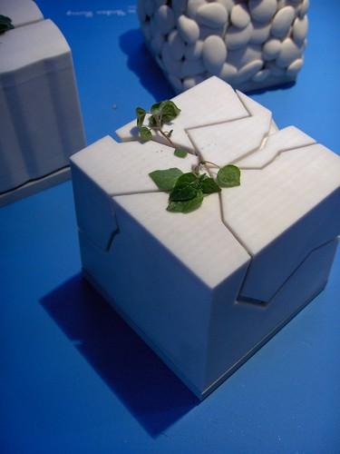 3d printed box vase