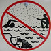 don't fish for swimmers by the sewer in the rain