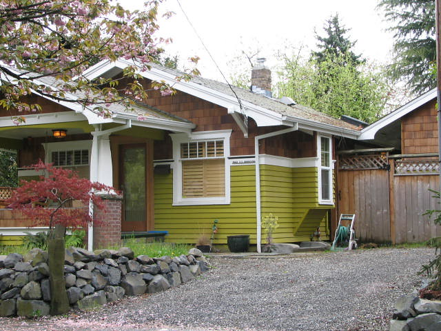 The House With The Moss Green Paint This Is A House We Lo Flickr Photo Sharing