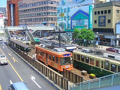 長崎駅前 路面電車
