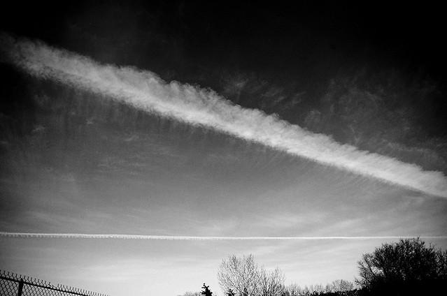 sky (b/w)