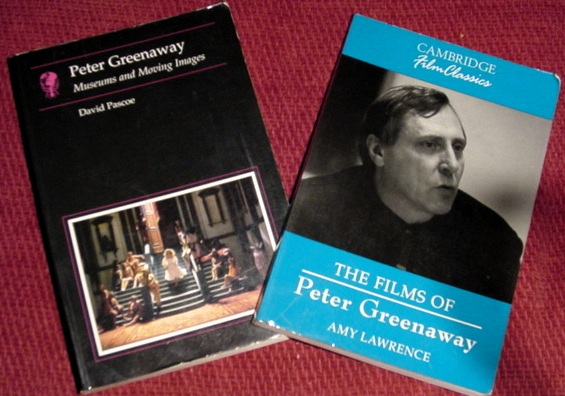 Books About Peter Greenaway