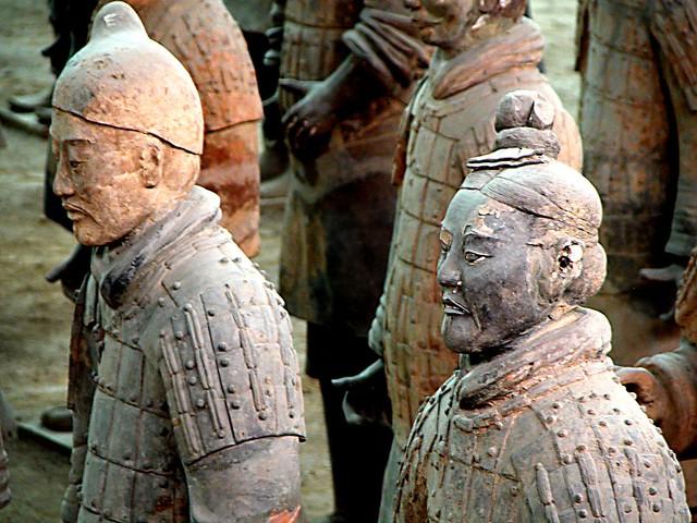 Detail, Terracotta Warriors