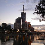 Yarra River at dusk