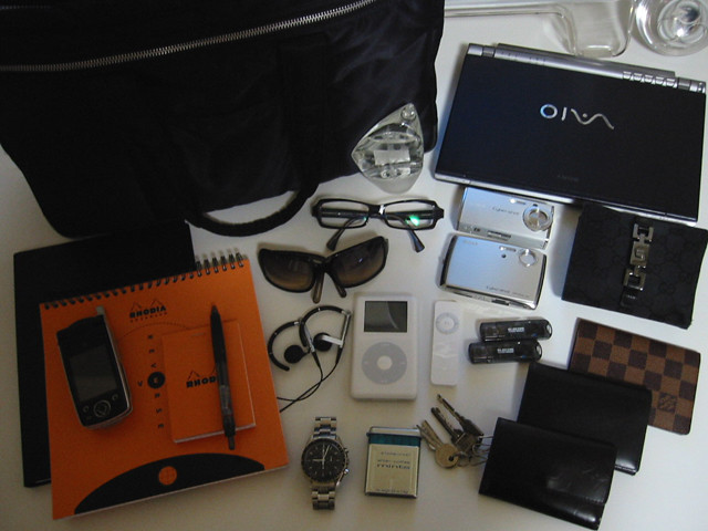 What's in my bag, Canon IXY DIGITAL 200