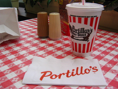 Lunch @ Portillo's