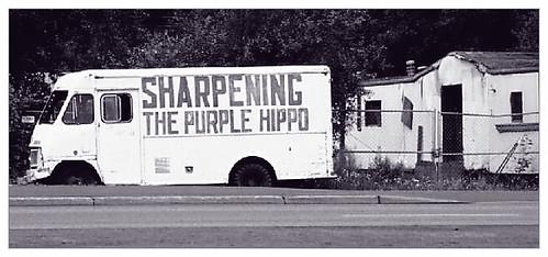 Sharpening The Purple Hippo?
