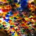 Chihuly blown glass ceiling