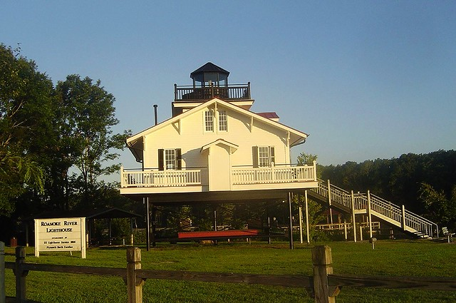 Roanoke river lighthouse, dawn - when I become 70
