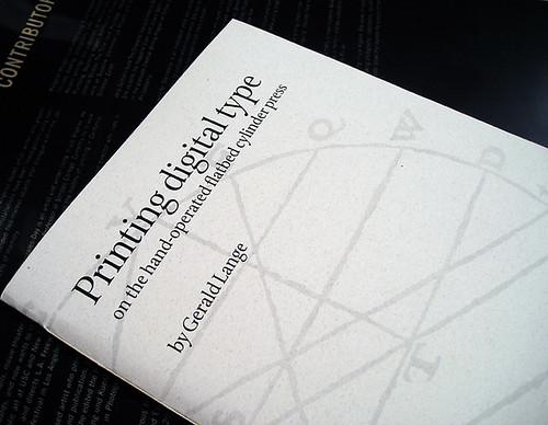 PDT4 — Printing digital type (fourth edition, 2009)