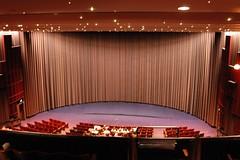 movie theater(0.0), function hall(0.0), billiard room(0.0), performing arts(0.0), conference hall(0.0), performing arts center(1.0), music venue(1.0), theatre(1.0), stage(1.0), theatre(1.0), auditorium(1.0), interior design(1.0), convention center(1.0),
