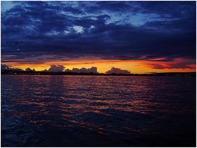 sunset @ concha acústica