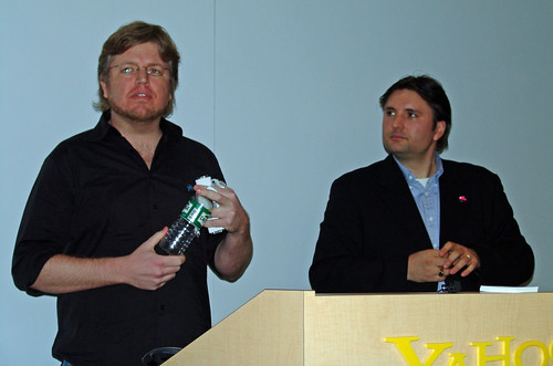Marc Brown and Jeff Clavier