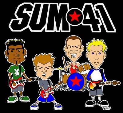 sum41 pieces吉他谱