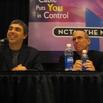 Larry Page and Jeffrey Katzenberg