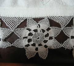 bahar dalı dantel havlu kenarıdetay