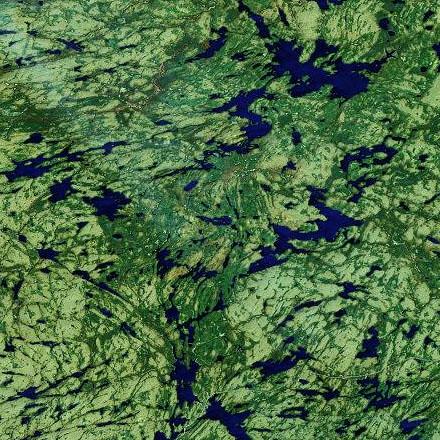 Halfway Lake Provincial Park, Ontario - A 10 day trip to Algonquin Provincial Park in Ontario, in September 2002.