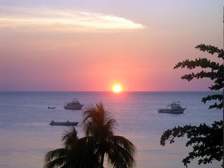 P1220091-Sunset in Jamaica