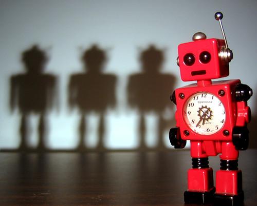 Robot Noir - Red Robot 4