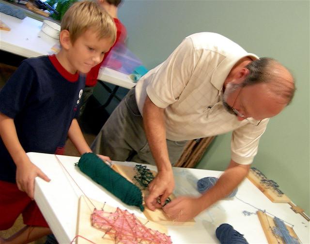 Helping Hands Craft Template
