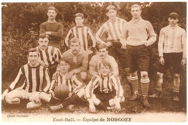 Roscoff Equipe de football - vers 1912