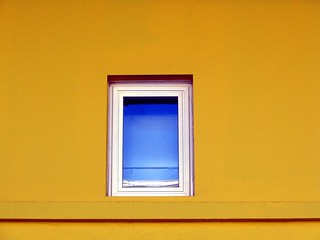 Complementary blue and yellow