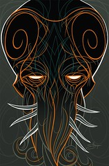 cthulhu, finished vector art