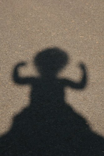 child shadow