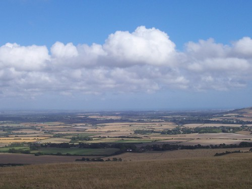 Looking East from Firle Beacon