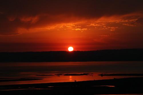 sunset red nature sunrise photo christian retreat warmbeach