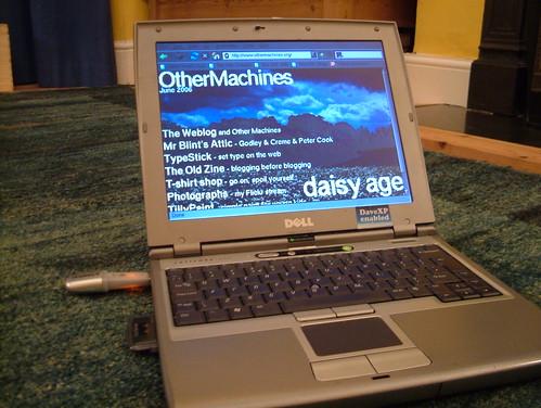 Linux on a USB pen drive