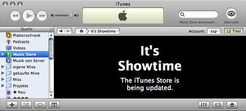 iTunes Showtime