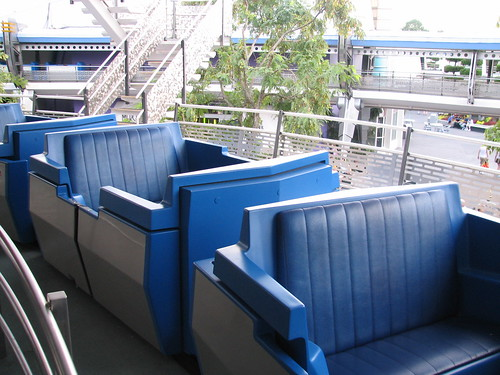 Car for the Tomorrowland Transit Authority