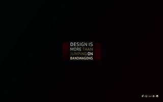 Design is more than jumping on bandwagons | by elektronaut