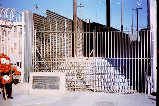 Fence at the Mexican border