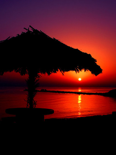 Hut Sunrise - Hello from Kish Island