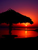 Hut Sunrise - Hello from Kish Island by Hamed Saber