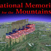 Title shot of the National Memorial for the Mountains