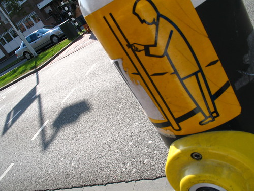 Press to walk / Oversteken