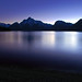 Last Twilight Jackson Lake, Grand Teton National Park, Wyoming