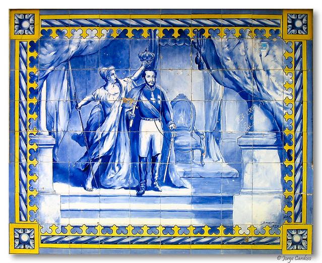 Historia dos azulejos de portugal for Azulejos de portugal