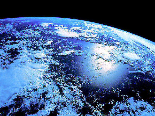 earth from outer space - photo #12