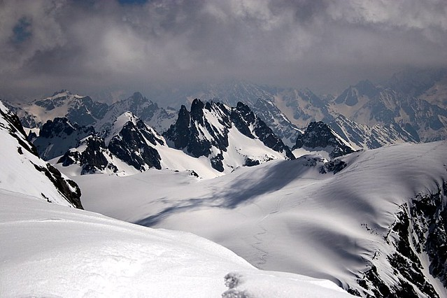View from Kleintitlis Ski Station 3200+ mts - Engelberg - Switzerland